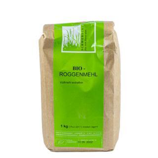 BIO Roggenmehl Vollmehl extrafein     (207)