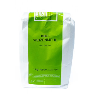 BIO Weizenmehl hell Typ700     (211)