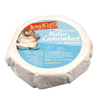 BIO Natur Camembert - Wird gewogen!