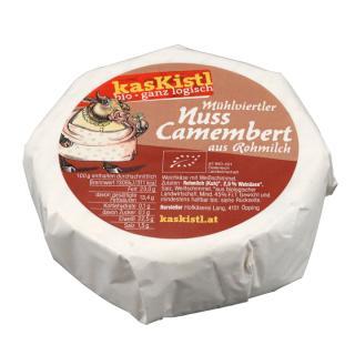 BIO Nuss Camembert - Wird gewogen!