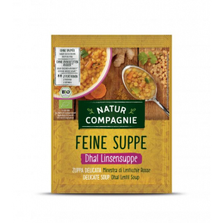 BIO Feine Suppe Dhal Linsensuppe
