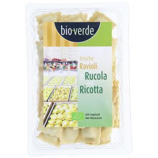 BIO Ravioli mit Rucola