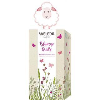 Blumige Grüße Wildrose/Mandel