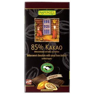 BITTERSCHOKOLADE/85 % Kakao  kbA