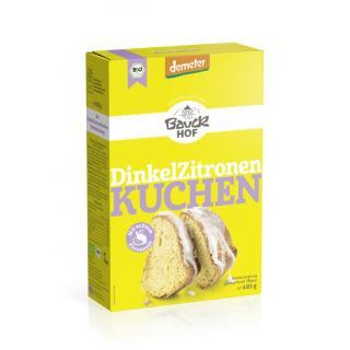 BIO Dinkel Zitronenkuchen