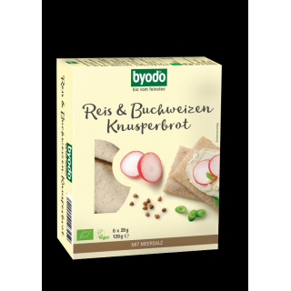 BIO Reis & Buchweizen Knusperbrot