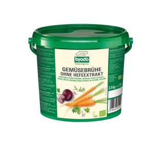 BIO Gemüsebrühe ohne Hefeextrakt