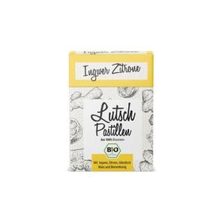 BIO Ingwer Zitrone Lutschpastille