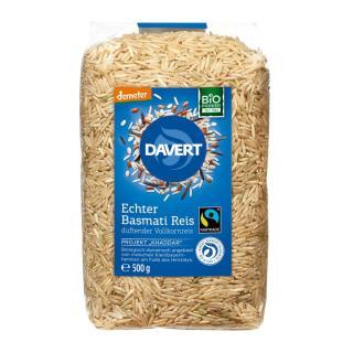 BIO Echter Basmati Reis Vollkorn