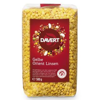 BIO Gelbe Orient Linsen