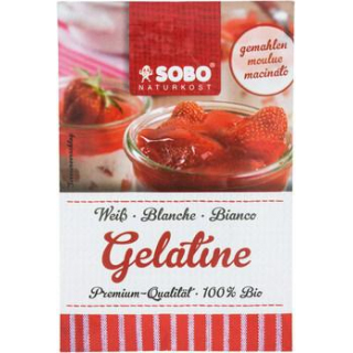 Bio-Gelatine, gemahlen, weiß  kbA