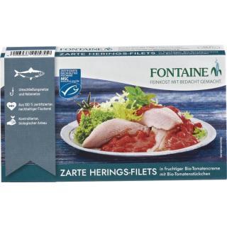 HERINGSFILETS i.Tomatencreme  bio