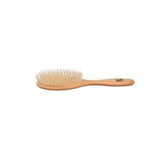 Haarbürste Buche oval fest