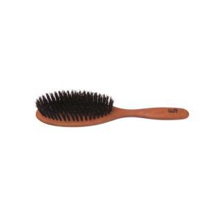 Haarbürste oval Wildschwein fest