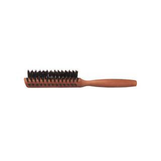 Haarbürste Birnbaum halbrund sehr hart