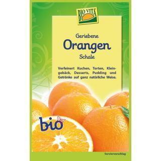 BIO Geriebene Orangenschale