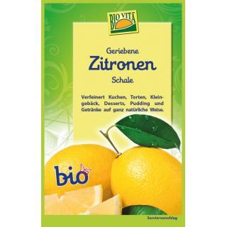 BIO Geriebene Zitronenschale