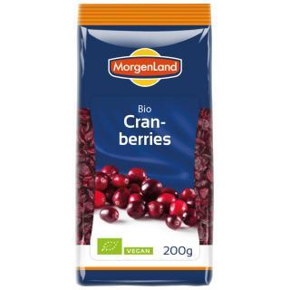 Cranberries gesüßt  kbA