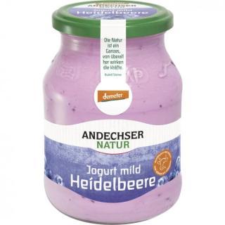 BIO Joghurt mild Heidelbeere