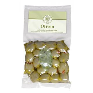 Oliven m.Paprika gefüllt natur kbA