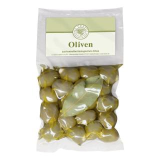 Oliven mit Mandeln gefüllt  kbA