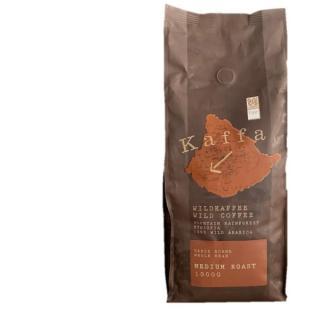 BIO Kaffa Wildkaffee medium, ganze Bohne