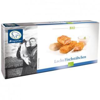 BIO Lachs Fischstäbchen