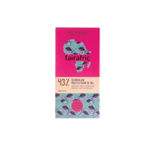 BIO 43% Schokolade Milch&fleur De Sel