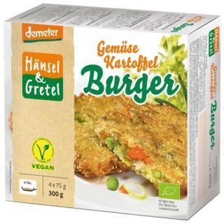 BIO Gemüse Kartoffel Burger