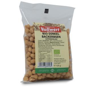 BIO Dinkel-Backerbsen