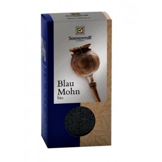 BIO Blau Mohn