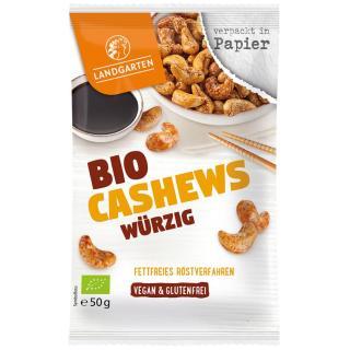 BIO Cashews würzig