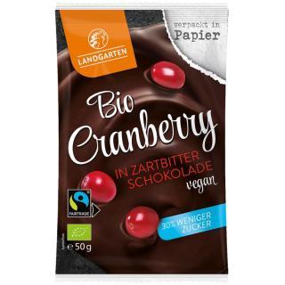 BIO Cranberry in Zartbitter Schokolade