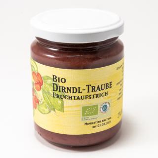 BIO Dirndl-Traube Fruchtaufstrich