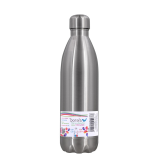 Edelstahl Thermoflasche stahl 0,75l
